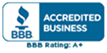 Better Business Bureau Accredited Business Rating A+